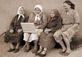 anziani al computer