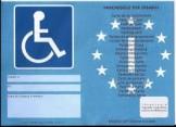 contrassegno auto disabili