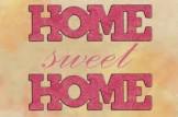 scritta home sweet home