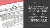 pagina gazzetta ufficiale
