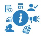 informazione logo stilizzato