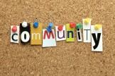 scritta lavoro comunità