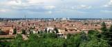 panorama di bologna dai colli