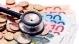 stetoscopio e banconote