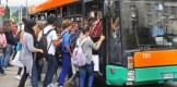 studenti sul bus