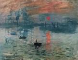 quadro Monet sole nascente