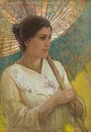 Olga col parasole