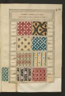 Campione delle carte colorate della Fabbrica di Carlo Bertinazzi e Nipote