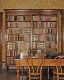 Nello studio: una libreria
