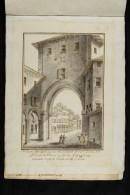 Veduta del voltone in strada Castiglione venendo verso la chiesa di Santa Lucia (n. 59)