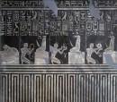 Il faraone Nectanebo offre doni agli dei