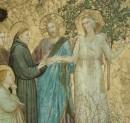 San Francesco, Cimabue e Giotto.