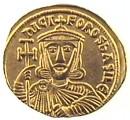 Solido in oro di Niceforo I e Staurazio