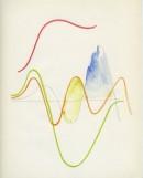 "Francesca Ferreri, ""Gaussiana"", 2019, acquerello su carta, cm 21 x 26"
