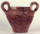 Anforetta con iscrizione etrusca