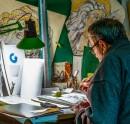 Uomo, scultore, artigiano | Arrigo Armieri dalla Certosa al suo atelier