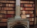 Camino nello studio e busto carducciano di Arturo Colombarini