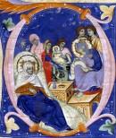 Pagina miniata al Museo Civico Medievale