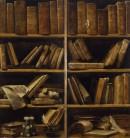 Giuseppe Maria Crespi, Sportelli di libreria musicale, Museo della Musica, Bologna