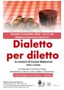 Dialetto per diletto - locandina WEB