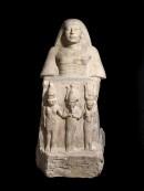 La statua templare dedicata da Amenmes e Reshpu