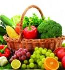 Frutta e verdura a tavola
