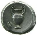 Didracma in argento di Tebe