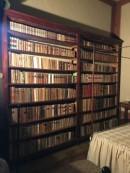 Libreria nella camera da letto di Giosue Carducci