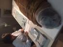 Cinzia Oliva sta restaurando la mummia di Usai