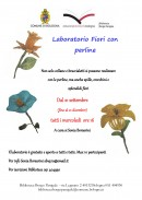 laboratorio fiori con perline