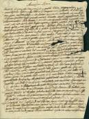 lettera di Santini a Gaspari, 1848