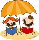 Storie al parco sotto l'ombrellone