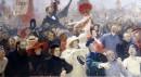 Ilya Repin, 17 October 1905 (1907, completato nel 1911), olio su tela ©State Russian Museum, St. Petersburg