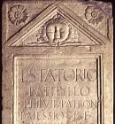 Stele di Lucio Statorio Batillo
