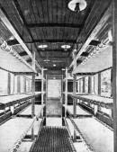 Tram modificato come ambulanza durante la prima guerra mondiale