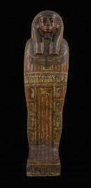 Il sarcofago di Unmontu, fronte