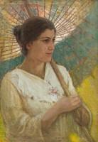Olga e il parasole giapponese
