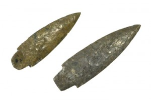 Two daggers, flint. Eneolithic