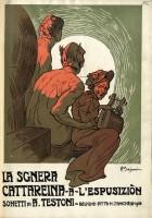Copertina del volume Alfredo Testoni, La Sgnera Cattareina a l'Espusiziòn. Sonetti