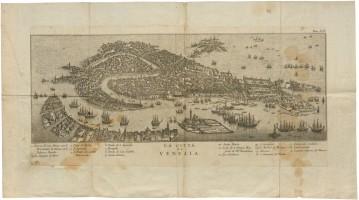 La Città di Venezia, Venezia, Giambatista Albrizzi, 1753, stampa all'acquaforte.