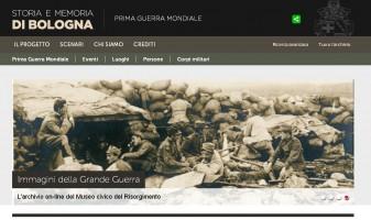Portale della Grande Guerra a Bologna
