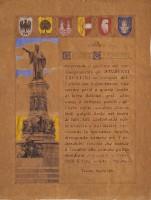 C. Bernardi, Gli studenti trentini per il 40° anno di insegnamento, 1901