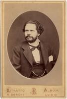 Nel 1876 per l'elezione a deputato di parte democratica nel collegio di Lugo di Romagna