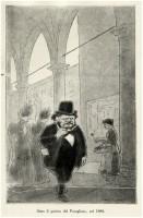Carducci sotto il portico del Pavaglione (Nasìca)