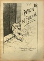 Copertina di Piròn èl furnar. Parole e musica di Carlo Musi, in: Carlo Musi (1851-1920), El mi canzunètt