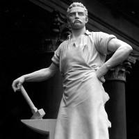 TULLO GOLFARELLI (1852 - 1928) - Lo scultore dei lavoratori