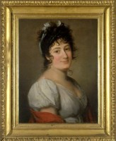 Gaspare Landi (1756 - 1830), ritratto di Teresa Bertinotti Radicati (1776 - 1854), 1803. Museo internazionale e biblioteca della musica di Bologna.