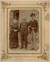 A Madesimo nel 1905 con la moglie Elvira e Speri Pollavini
