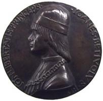 Medaglia per Giovanni II Bentivoglio