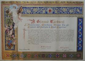 C. Simonetti, Address dell'Associazione Giordano Bruno di Firenze, 1888